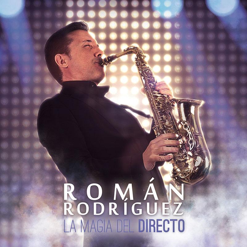 Disco La Magia del Directo- Román Rodríguez